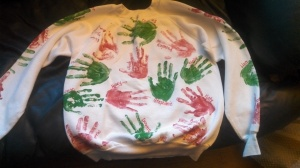 Sara's sweatshirt