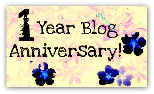 1 Year Blog Anniversary