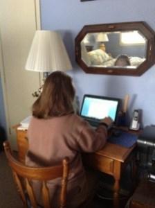 me blogging-webpage