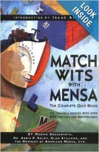 mensa bookcover