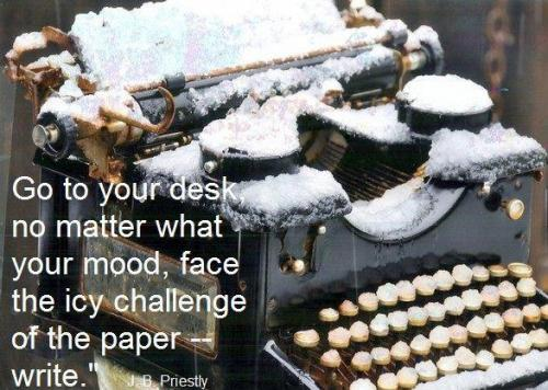 icy typewriter