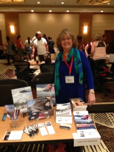 my book signing table